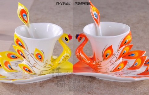 CoffeeCups Set Cherry Picked For You