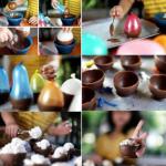 Making Ice Cream Pots