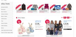eBay Hot Deals Tools - website