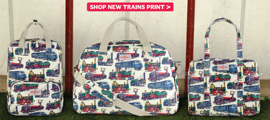 something special - cath kidston brand - train collection
