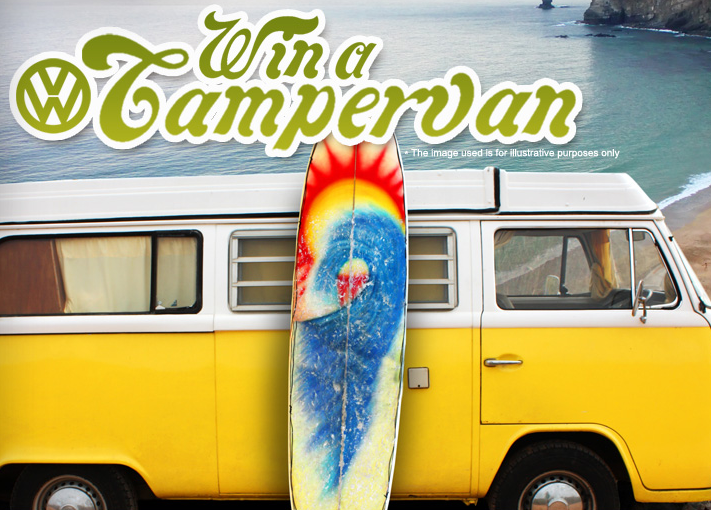 win vw campvan
