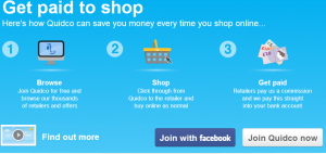 Get Paid When Shopping