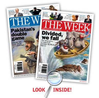 Get a free copy of The Week