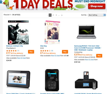 Daily Deals Play.com