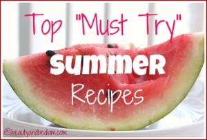 top-summer-recipes