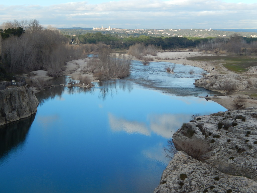 Amazing view from Pont du Gard