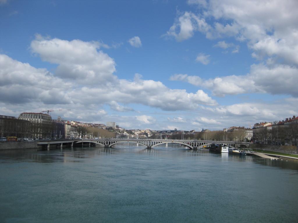 The blue sky & amazing light in Lyon