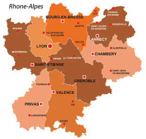 Rhone Alpes Area