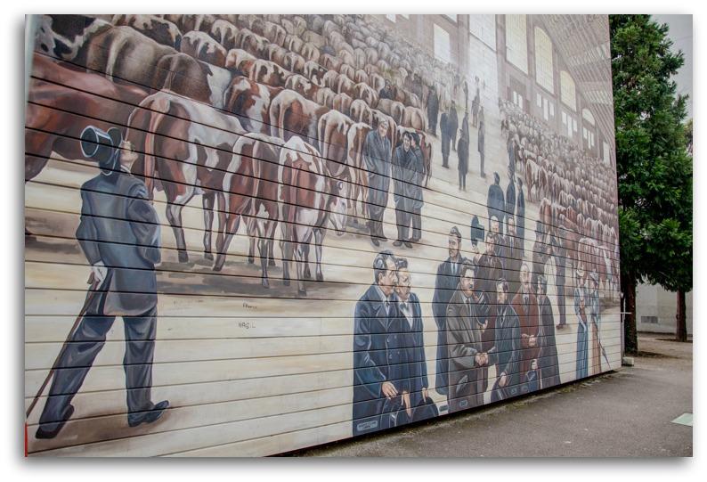Tony Garnier Murals