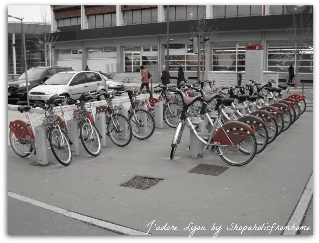 Bikes in Lyon