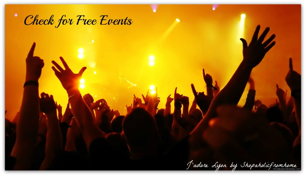 Find Free Events in Lyon