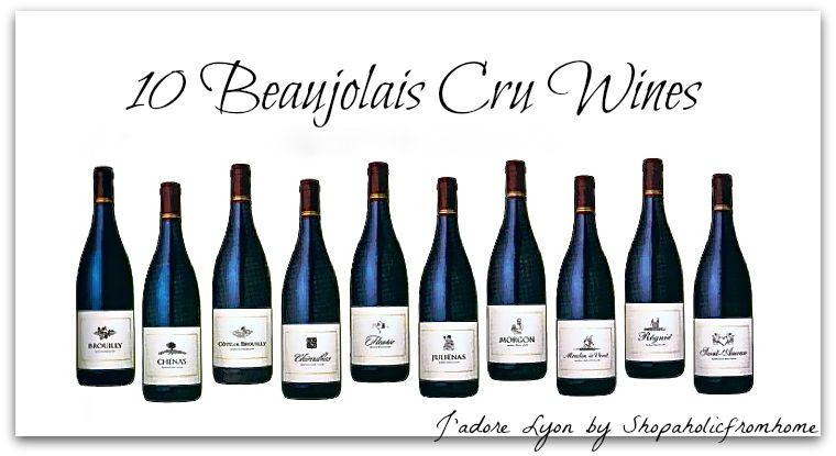 10 Wines Beaujolais Cru