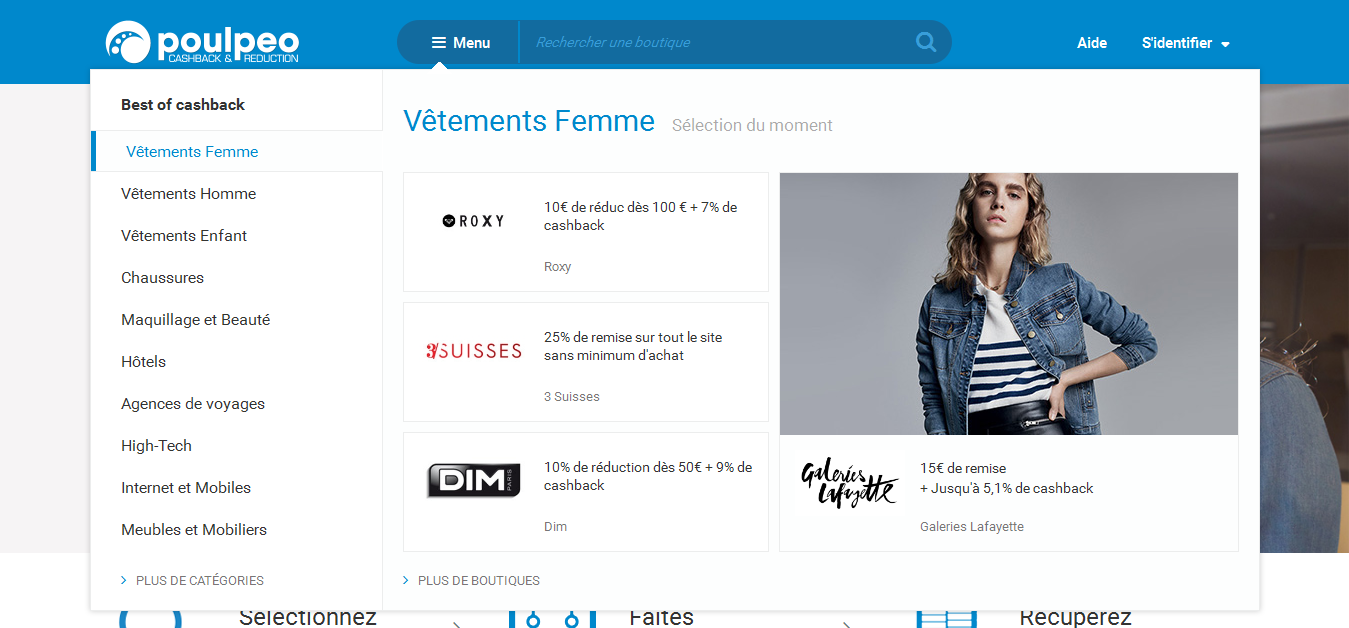 Bons-de-reduction.com New Website Poulpeo