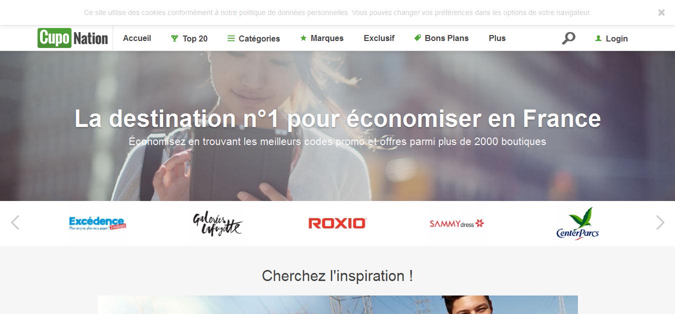 CupoNation.fr Voucher Codes