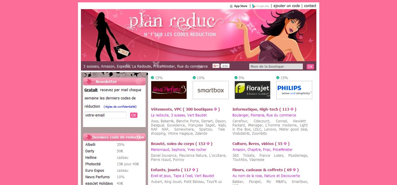 Planreduc.com Vouchers & Deals