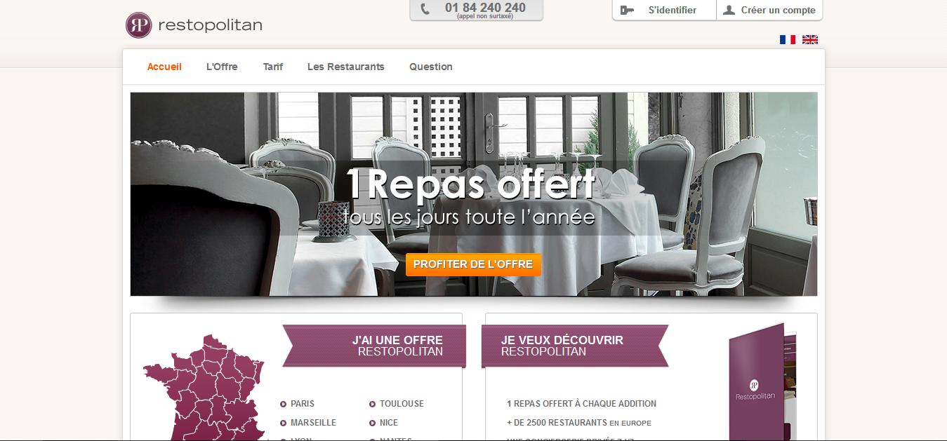 Restopolitan.com Restaurant Deals