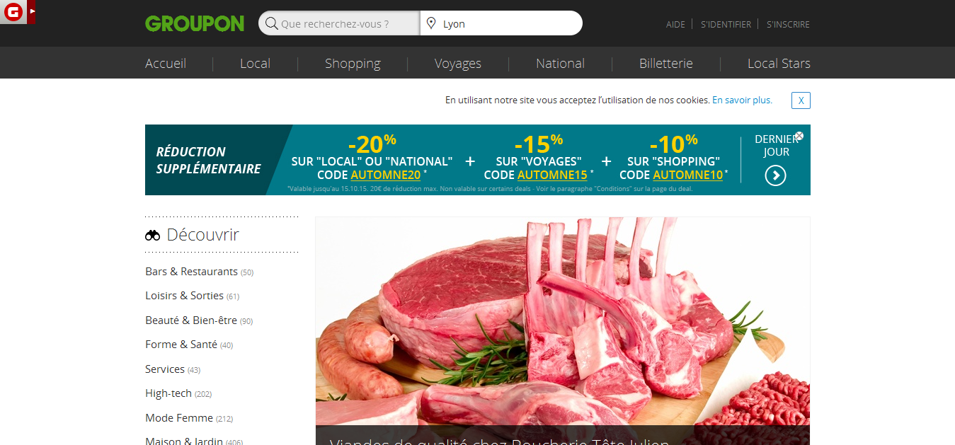 Groupon France For The Hottest Deals