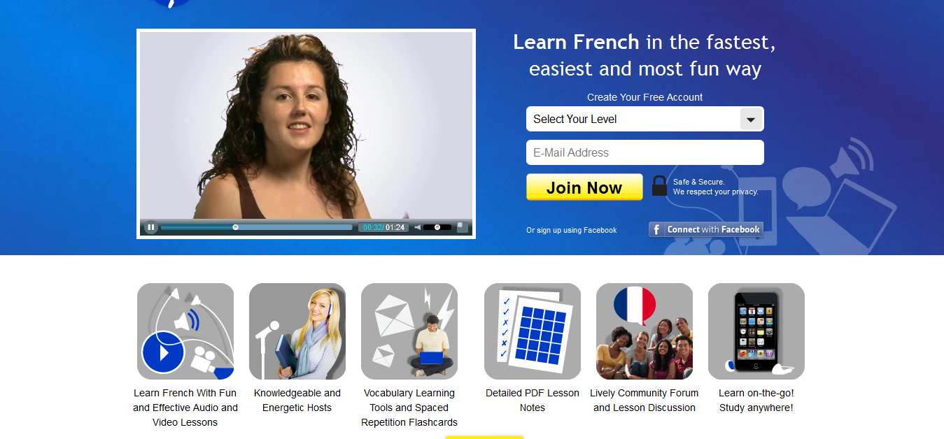 Learn French at FrenchPod101