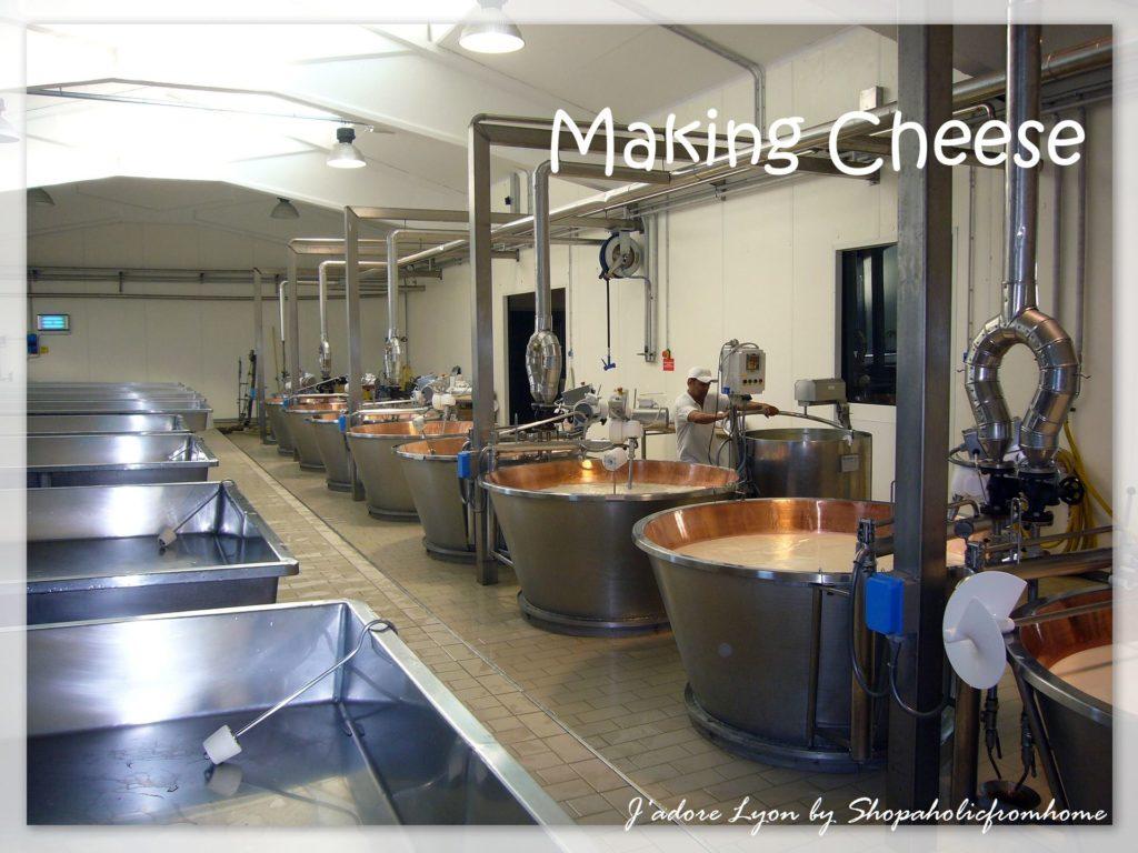 Making-cheese