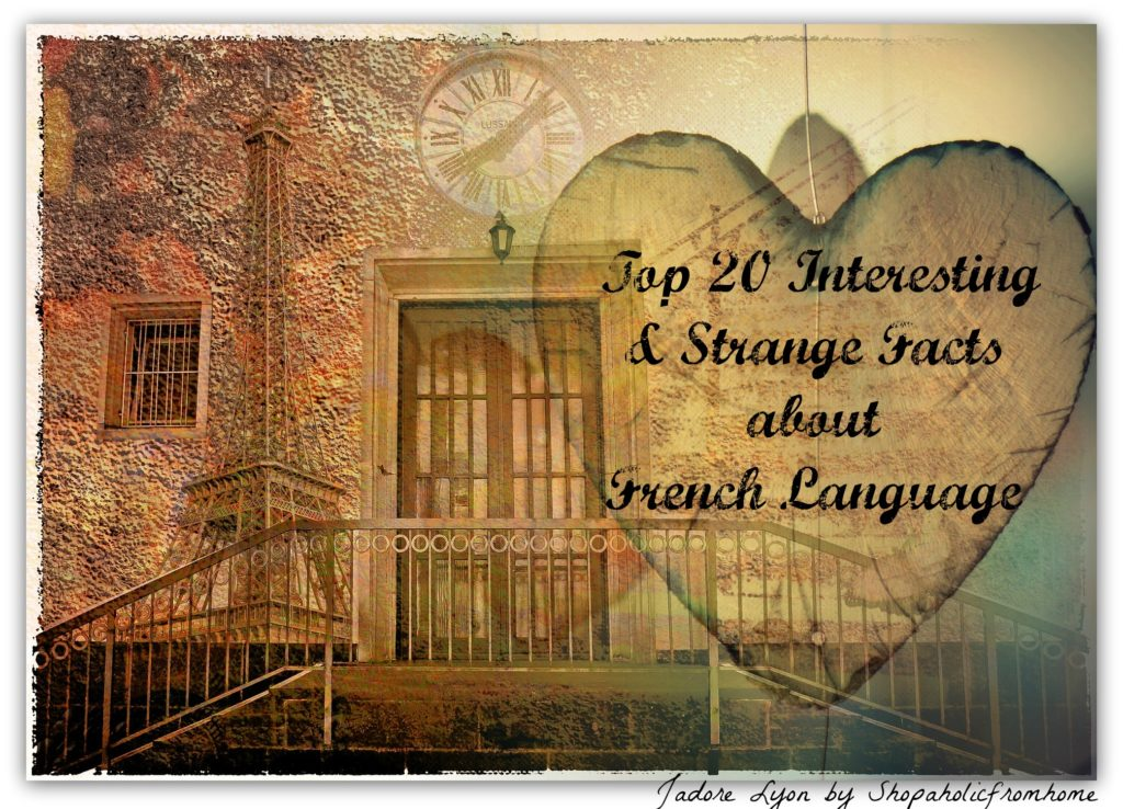 Top 20 Interesting & Strange Facts about French Language