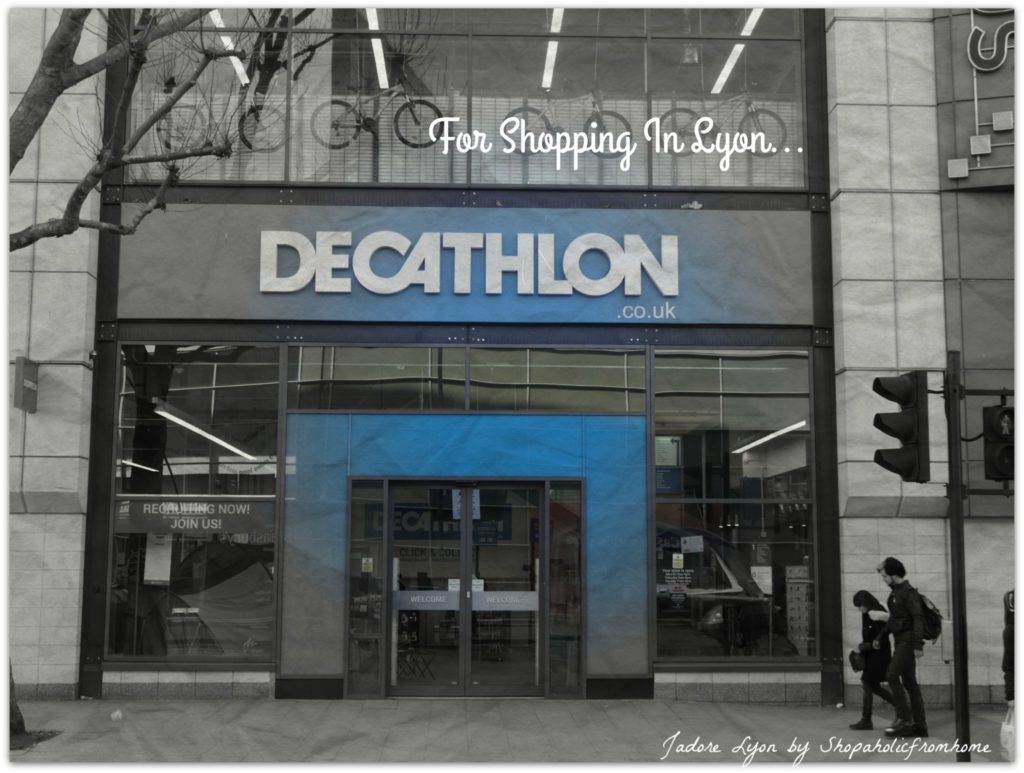 Decathlon Shopping in Lyon