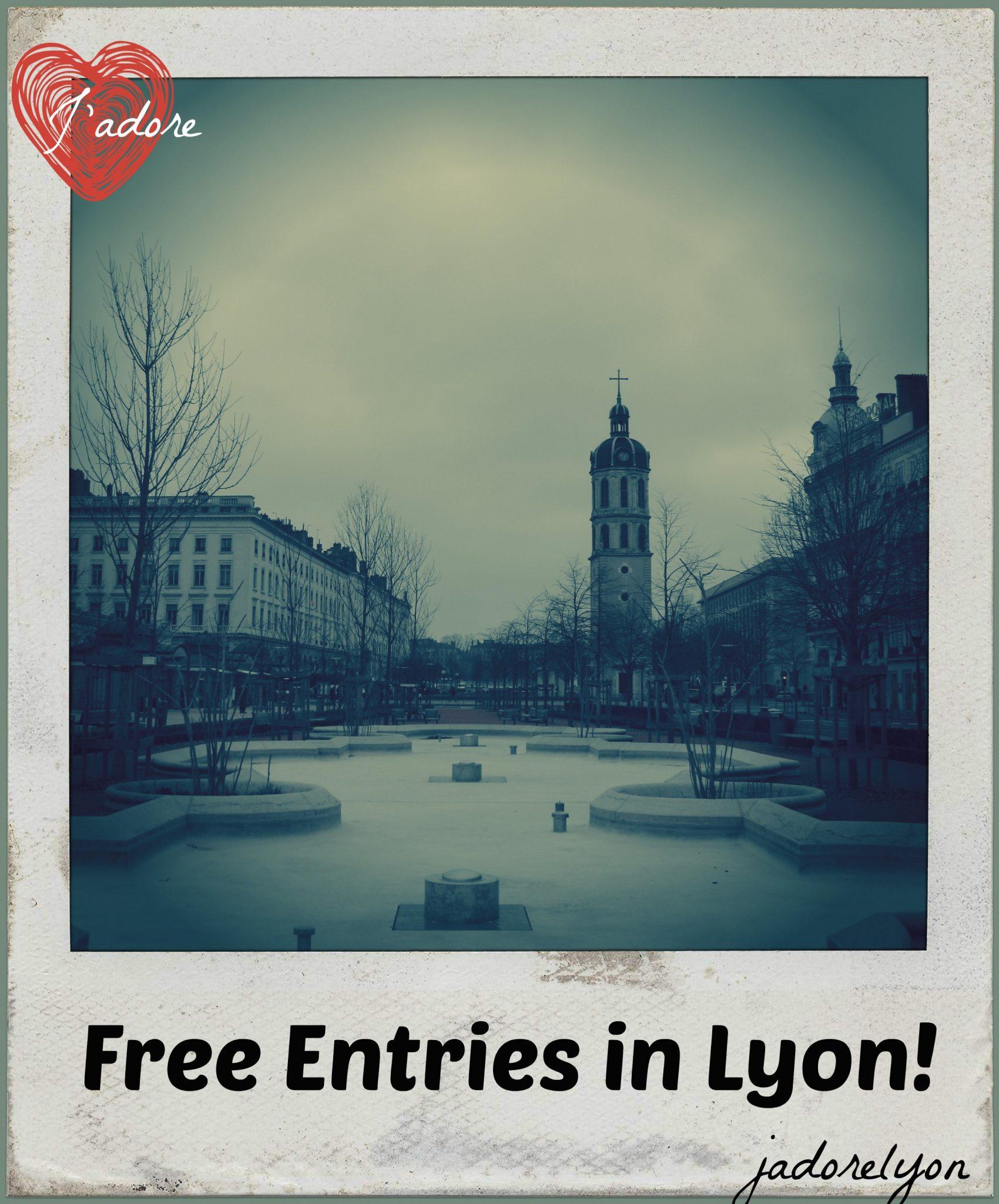 Free Entries in Lyon