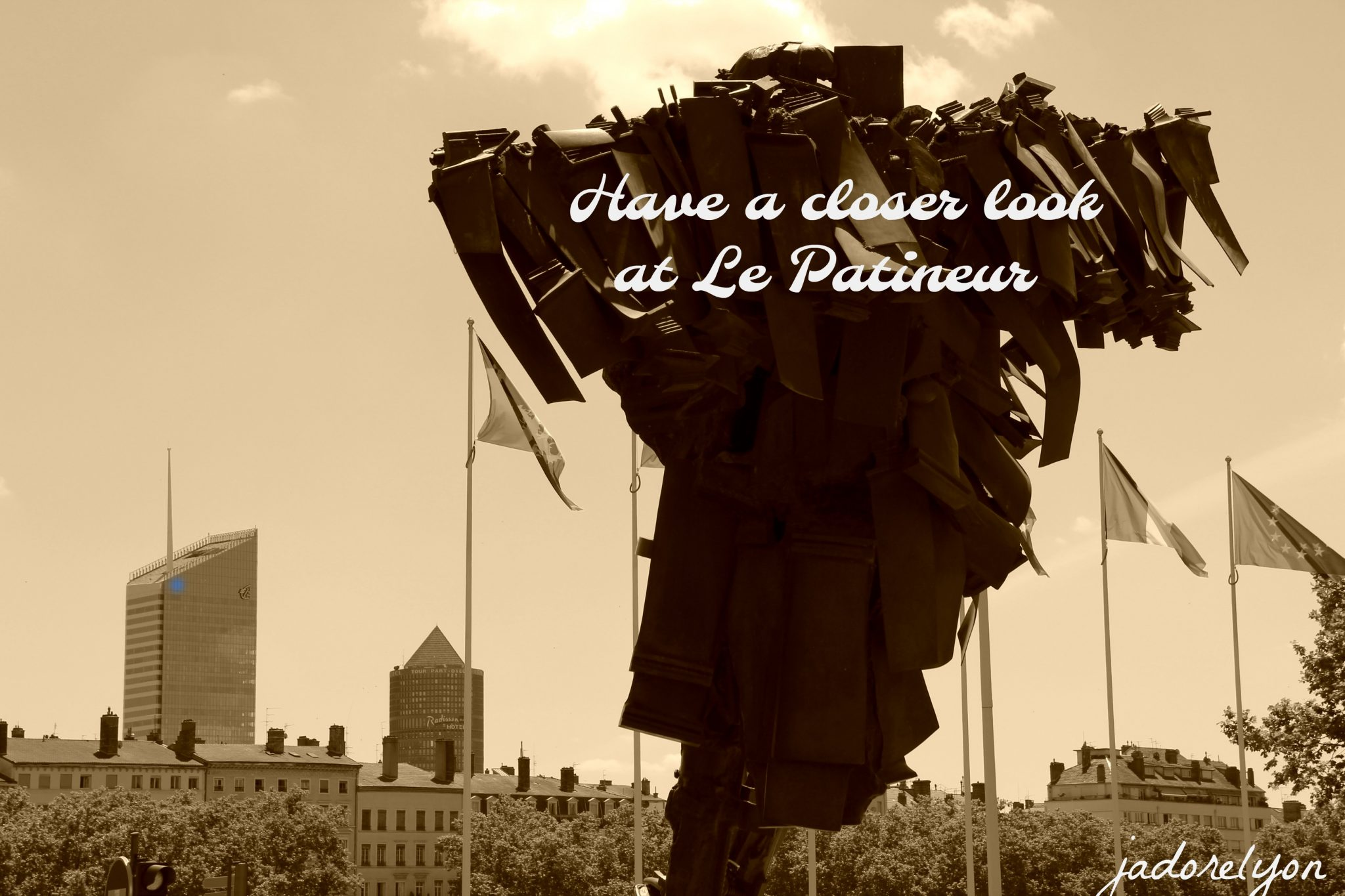 Have a closer look at Le Patineur