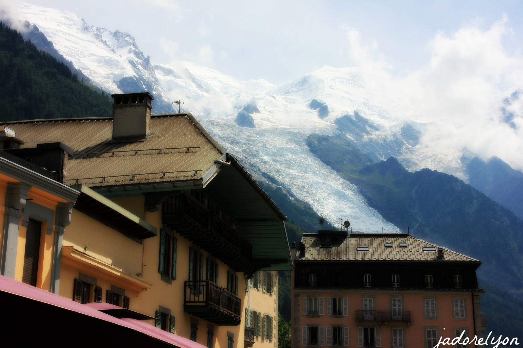 Because of the architecture of Chamonix