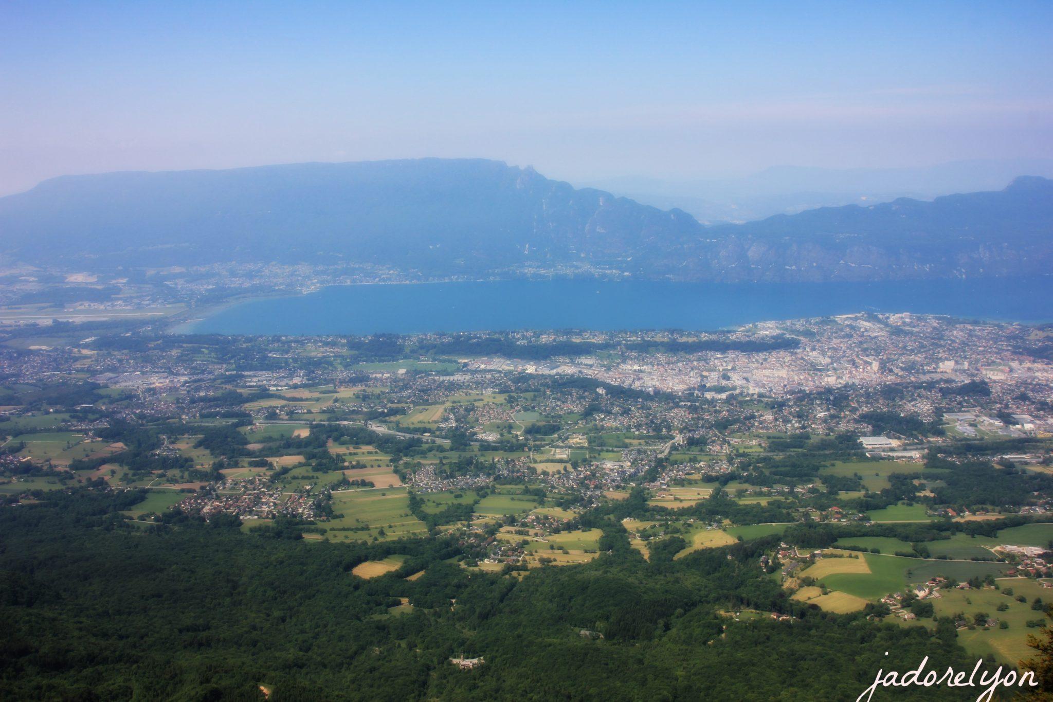 View from Belveder du Revard