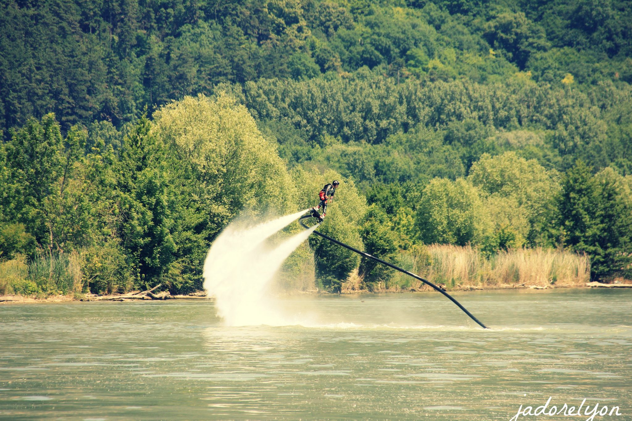 Fly Board Prod Jet at Vallee Bleue