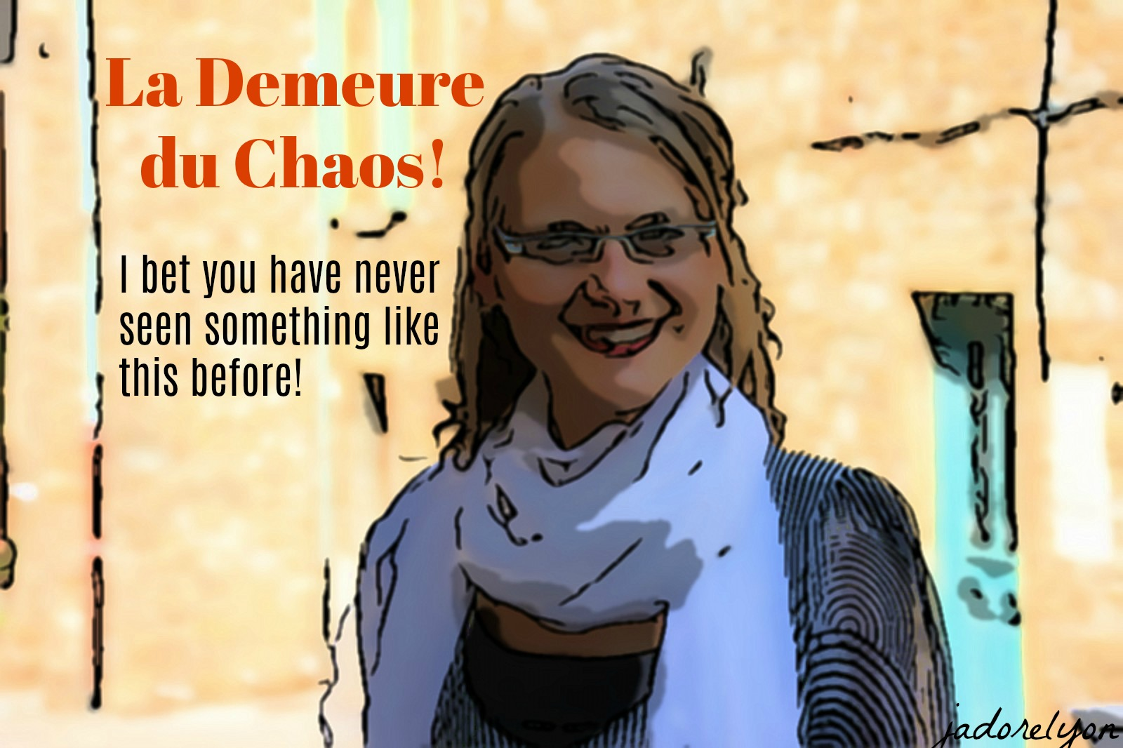 La Demeure du Chaos! I bet you have never seen something like this before!