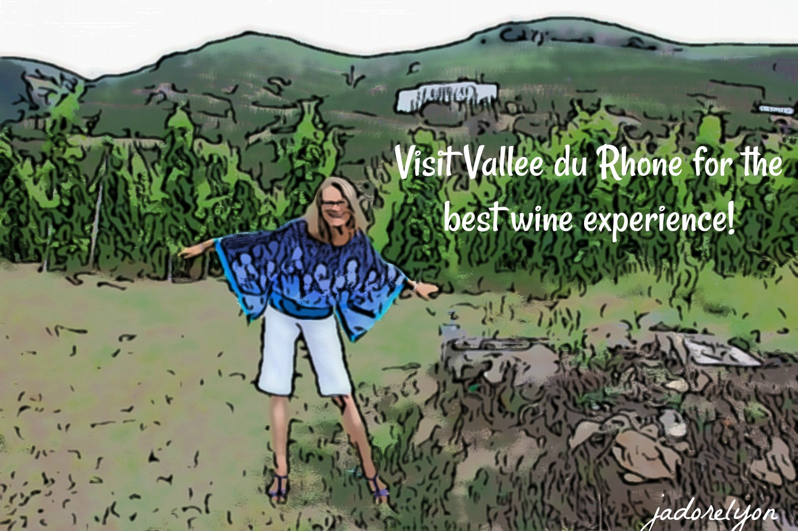 Visit Vallee du Rhone for the best wine experience!