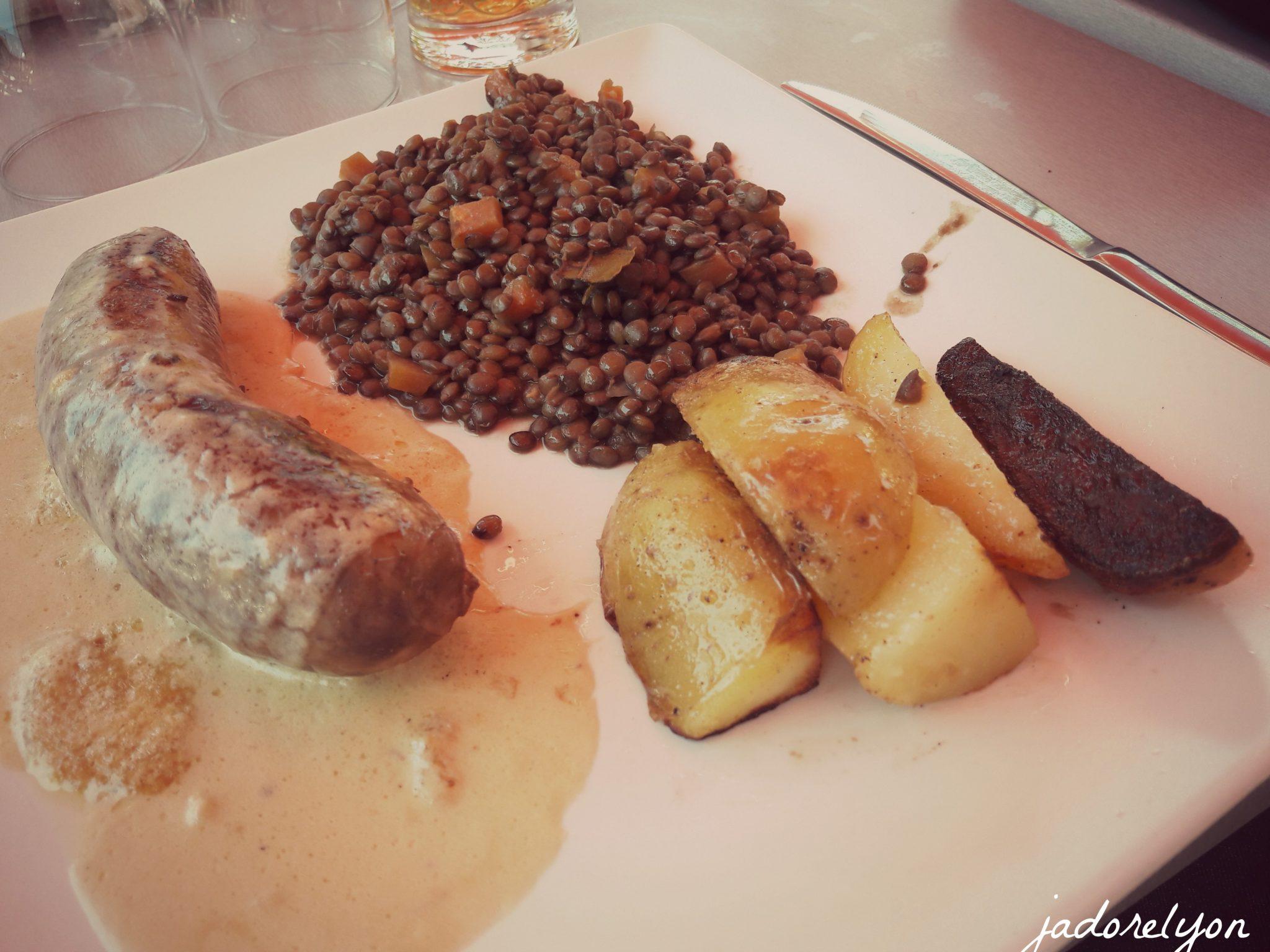 Le Puy en Velay Lentills and the Sausage of Le Puy en Velay