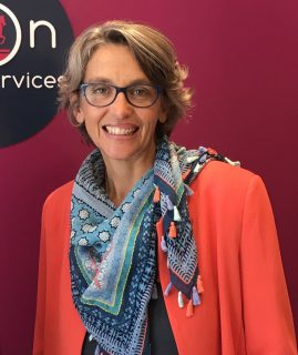 Sophie - the founder of Lyon Expat Services