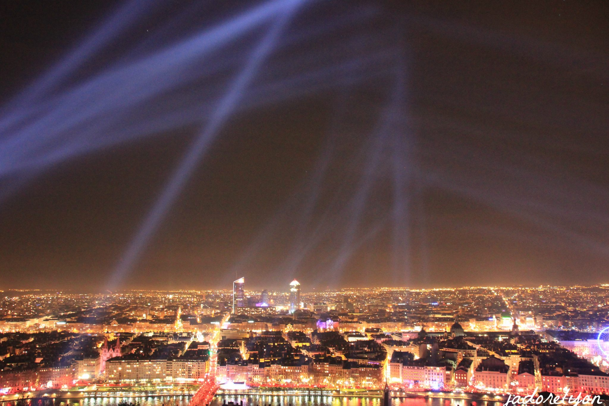 City of Lights, view from Fourvière, Lyon 5