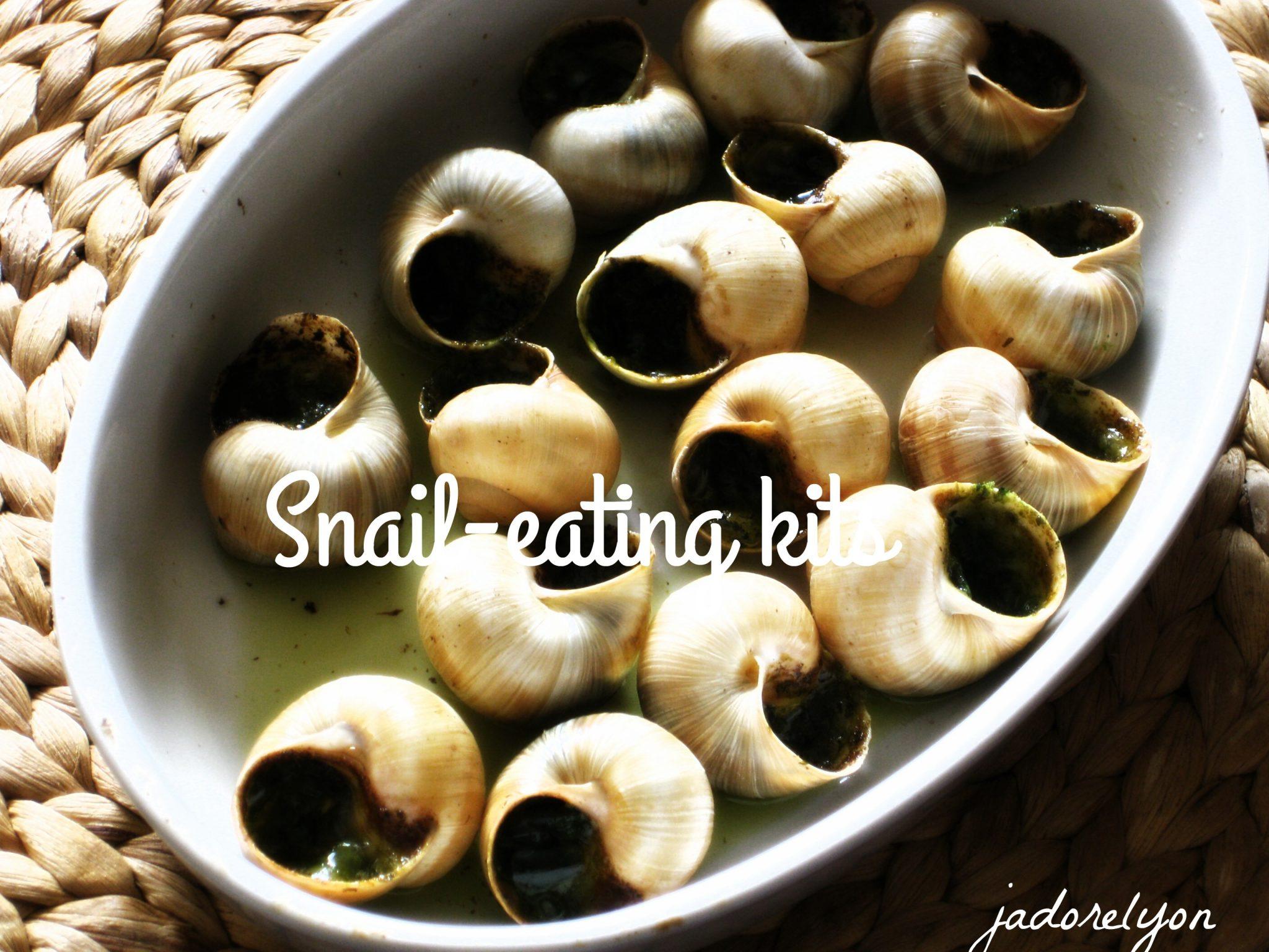 Snail eating kits.