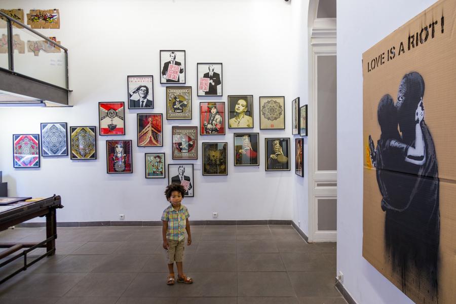 """Exposition """"Un carton !"""" à la galerie Spacejunk - Lyon."""