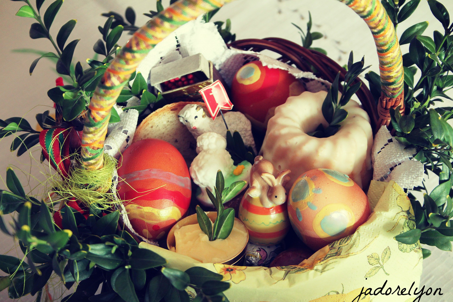 Food basket - swieconka