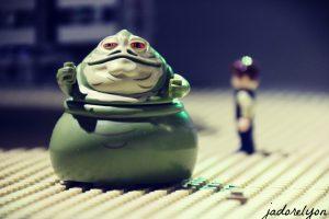 Jabba The Hutt in Lyon! At the Lego Expo at MiniWorld