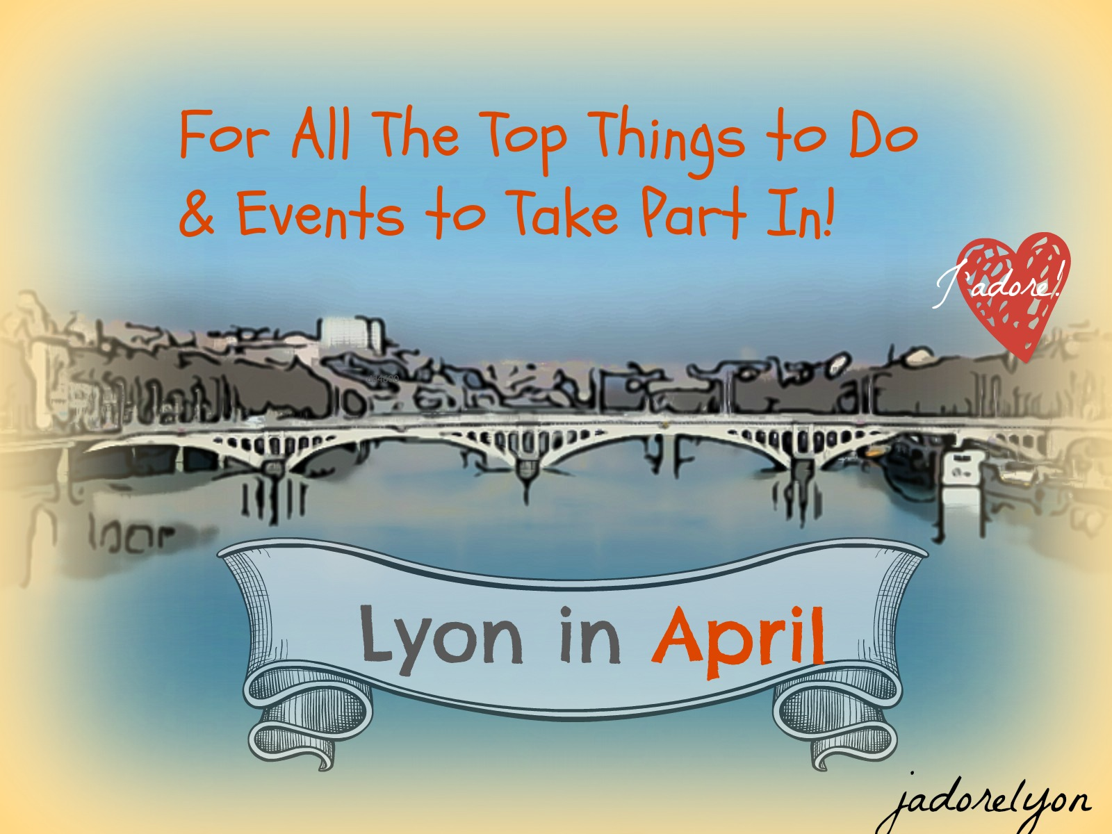 Lyon in April