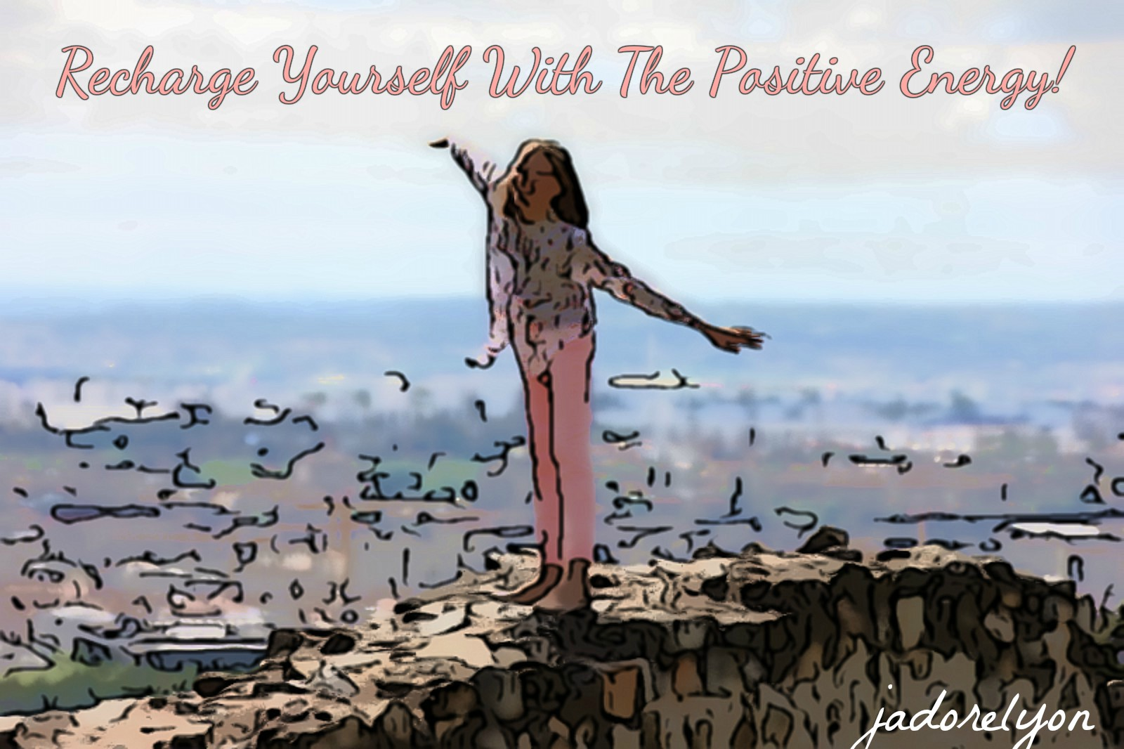 Recharge yourself with the positive energy