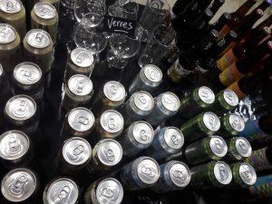 Not only beer in bottles!