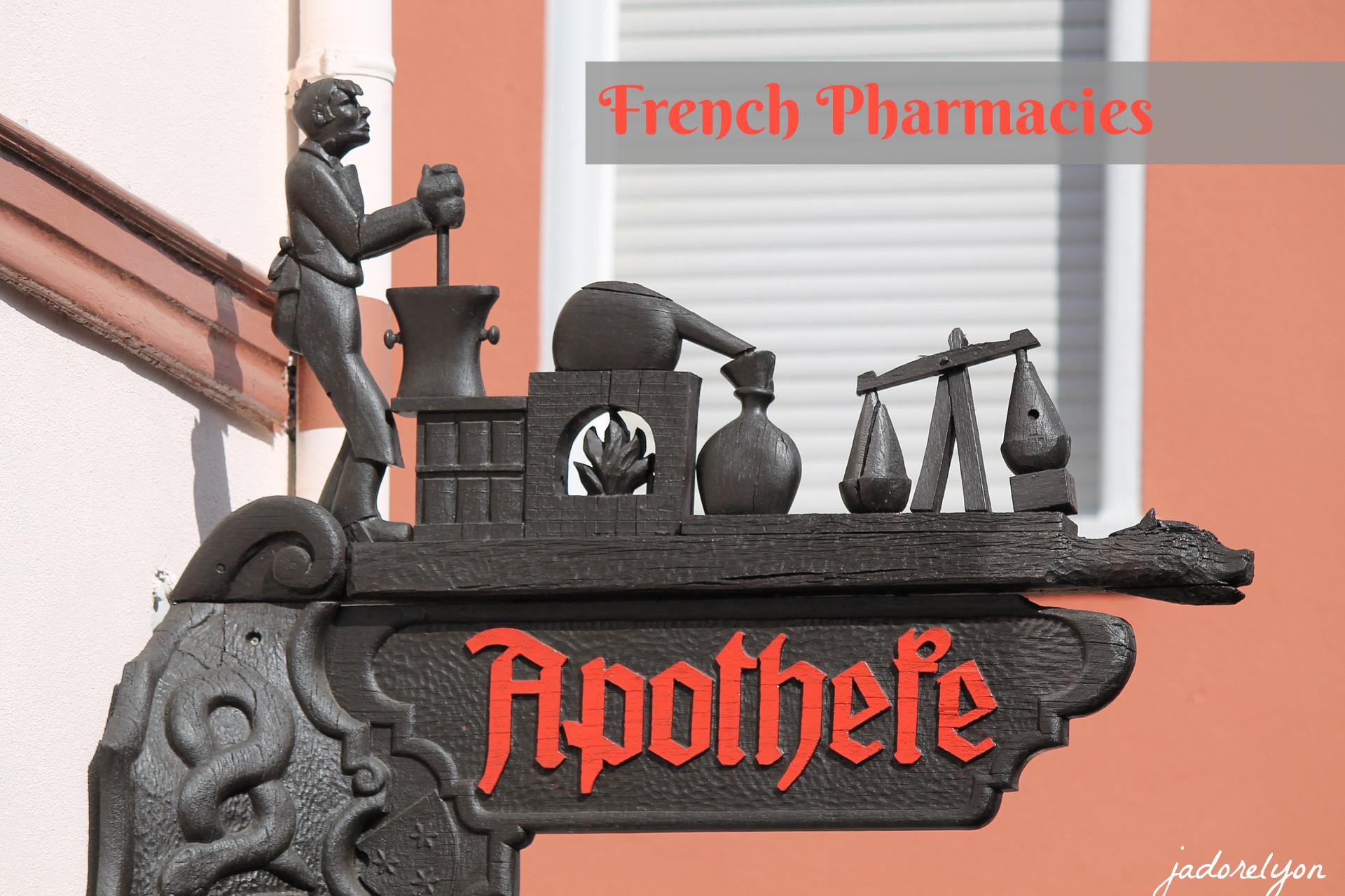 French pharmacies