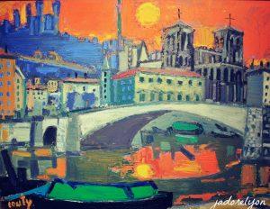 Lyon center by JeanCouty