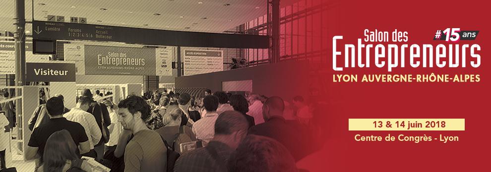 Salon des Entrepreneurs Auvergne-Rhône-Alpes 2