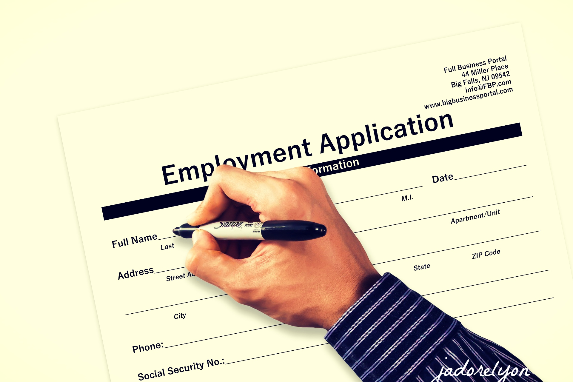 Register with local job center