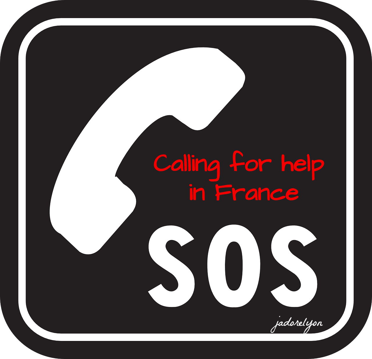 Calling for help in France