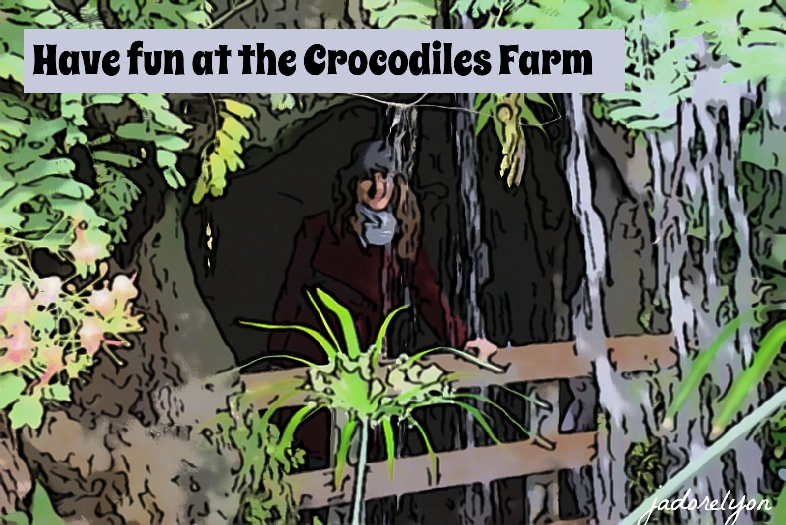 Have fun at the Crocodiles Farm