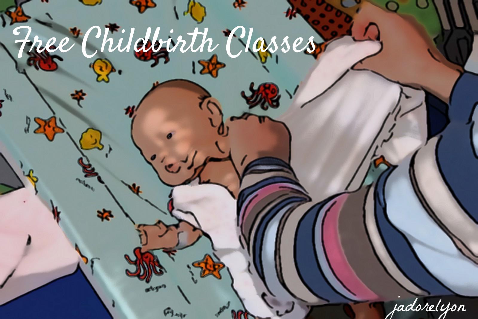 Free childbirth classes