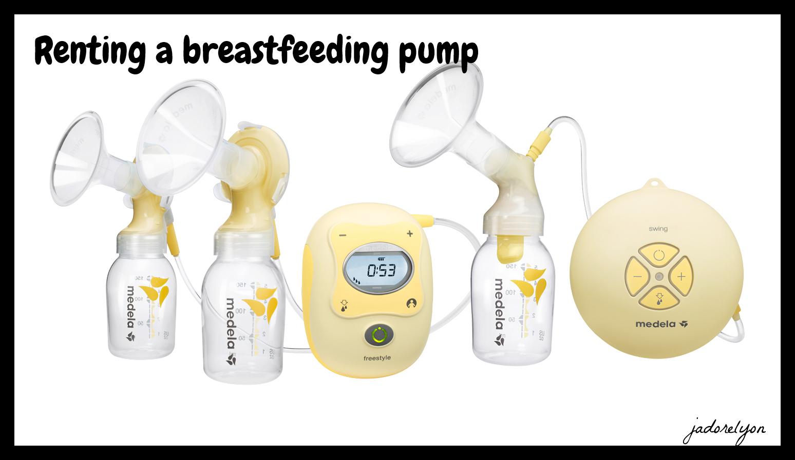 breastfeeding pump renting